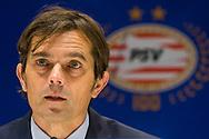EINDHOVEN, PSV - ADO Den Haag, voetbal Eredivisie, seizoen 2013-2014, 22-12-2013, Philips Stadion, PSV coach Phillip Cocu.