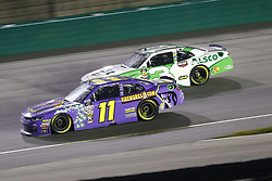July 13, 2018 - Sparta, Kentucky, United States of America - Ryan Truex (11) and Ty Dillon (3) battle for position during the Alsco 300 at Kentucky Speedway in Sparta, Kentucky. (Credit Image: © Chris Owens Asp Inc/ASP via ZUMA Wire)