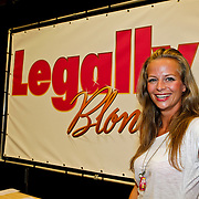 NLD/Amsterdam/20100823 - Perspresentatie musical Legally Blonde, Cindy Bell