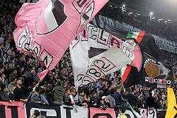 October 2, 2018 - Turin, Piedmont, Italy - Juventus fans during the Juventus FC UEFA Champions League match between Juventus FC and Berner Sport Club Young Boys at Allianz Stadium on October 02, 2018 in Turin, Italy..Juventus won 3-0 over Young Boys. (Credit Image: © Massimiliano Ferraro/NurPhoto/ZUMA Press)