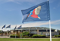PURMEREND Burggolf , vlag Burggolf met clubhuis.
