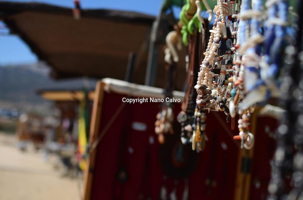 Hippie Market in Bolinia Beach, Tarifa
