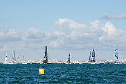Start of 2016 Vendee Globe