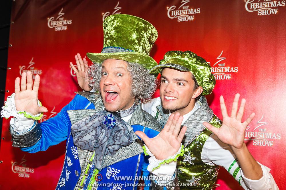 NLD/Amsterdam/20161012 - RTL presenteert cast The Christmas Show, Carlo Boszhard en Buddy Vedder