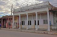 Funeral home in Cumanayagua, Cienfuegos, Cuba.
