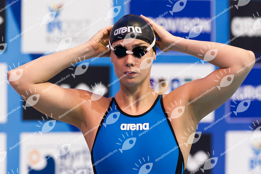 GEMO Elena ITA<br /> Women's 50m butterfly heats<br /> Netanya, Israel, Wingate Institute<br /> LEN European Short Course Swimming Championships  Dec. 2 - 6, 2015 Day02 Dec. 3nd<br /> Nuoto Campionati Europei di nuoto in vasca corta<br /> Photo Giorgio Perottino/Deepbluemedia/Insidefoto