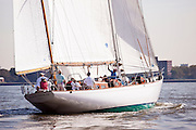 Black Watch sailing in the New York Classic Week regatta.
