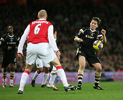 London, England - Tuesday, January 2, 2007: Charlton Athletic's Matthew Holland against Arsenal during the Premiership match at the Emirates Stadium. (Pic by Chris Ratcliffe/Propaganda)
