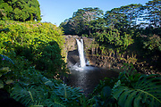 Rainbow Falls, Hilo, Big Island of Hawaii, Hawaii