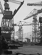10 Ton Hammerhead Cranes, Camwell Laird Shipyard, England, 1928