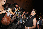 01.OCTOBER.2011. PARIS<br /> <br /> JARED LETO ARRIVES TO GREET FANS AT KANYES WEST'S FIRST WONENSWEAR COLLECTION AT PARIS FASHION WEEK<br /> <br /> BYLINE: EDBIMAGEARCHIVE.COM<br /> <br /> *THIS IMAGE IS STRICTLY FOR UK NEWSPAPERS AND MAGAZINES ONLY*<br /> *FOR WORLD WIDE SALES AND WEB USE PLEASE CONTACT EDBIMAGEARCHIVE - 0208 954 5968*