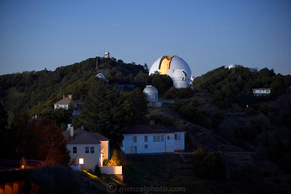 Lick Observatory on Mt. Hamilton. San Jose, California. 120-inch telescope.