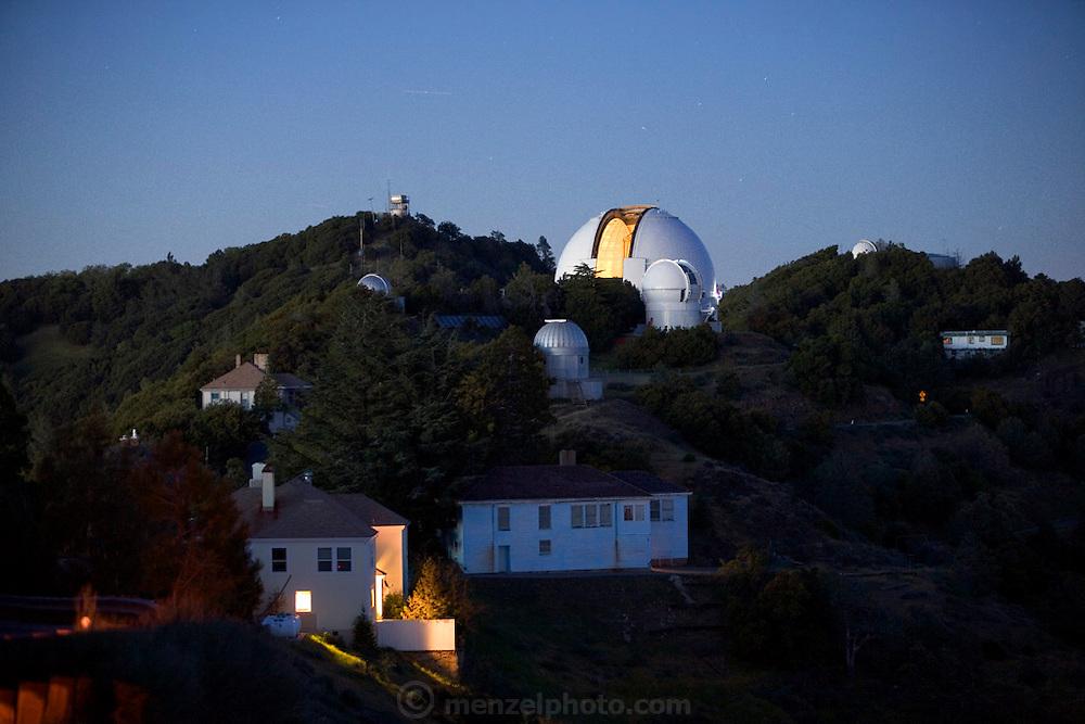 Lick Observatory on Mt. Hamilton. San Jose, California. 120-inch telescope.