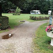 Camping de Woensberg Huizen verlaten en stil