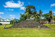Tia Seu Lupe, burial mound, American Samoa, South Pacific