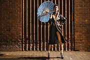 Fashion photo shoot in New York, geisha inspired theme - Fashion, lifestyle and portraiture photography