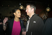 THANDIE NEWTON; OL PARKER, Party after the opening of  A Memory, A Monologue, A Rant, and A Prayer  at Century Club.  Restless Buddha's fundraising event helping women around the world. All proceeds raised from the sale of tickets go to Women for Women International, V-Day and Domestic Violence Intervention Project. 26 March 2012