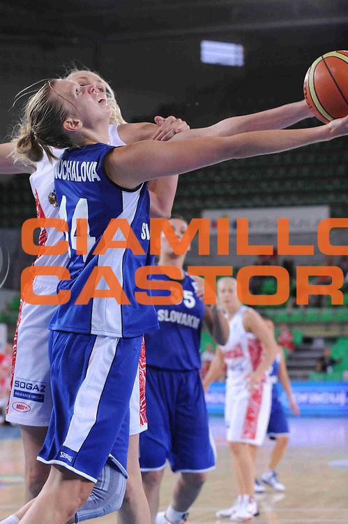 DESCRIZIONE : Bydgoszcz Poland Polonia Eurobasket Women 2011 Round 1 Russia Slovacchia Russia Slovak Republic<br /> GIOCATORE : Romana Vynuchalova<br /> SQUADRA : Slovacchia Slovak Republic<br /> EVENTO : Eurobasket Women 2011 Campionati Europei Donne 2011<br /> GARA : Russia Slovacchia Russia Slovak Republic<br /> DATA : 18/06/2011 <br /> CATEGORIA : <br /> SPORT : Pallacanestro <br /> AUTORE : Agenzia Ciamillo-Castoria/M.Marchi<br /> Galleria : Eurobasket Women 2011<br /> Fotonotizia : Bydgoszcz Poland Polonia Eurobasket Women 2011 Russia Slovacchia Russia Slovak Republic<br /> Predefinita :