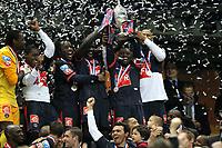 Fotball<br /> Frankrike<br /> Foto: Dppi/Digitalsport<br /> NORWAY ONLY<br /> <br /> FOOTBALL - FRENCH CUP 2009/2010 - FINAL - PARIS SAINT GERMAIN v AS MONACO - 1/05/2010<br /> <br /> JOY  CLAUDE MAKELELE (PSG)