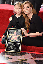 Aviana Olea Le Gallo attends the ceremony honoring Amy Adams with a star on the Hollywood Walk of Fame on January 11, 2017 in Los Angeles, California. Photo by Lionel Hahn/AbacaUsa.com