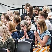 Bath Spa University showcases at Graduate Fashion Week 2019, on 3 June 2019, Old Truman Brewery, London, UK.at Graduate Fashion Week 2019 - Day Two Exhibitions on 3 June 2019, Old Truman Brewery, London, UK.