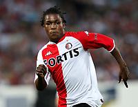 Photo: Maarten Straetemans.<br /> Feyenoord v Liverpool. Rotterdam Tournament. 05/08/2007.<br /> Royston Drenthe of Feyenoord