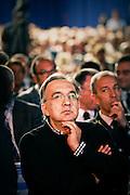 Sergio Marchionne alla Maserati di Grugliasco all'assemblea dell'Unione industriale che si e' svolta nello stabilimento.