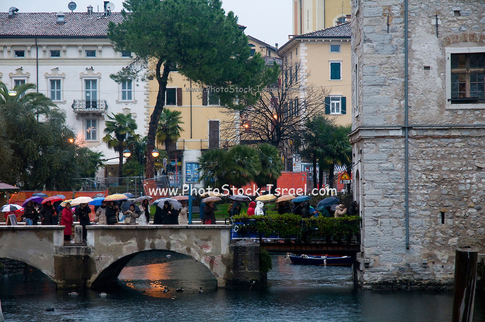 Italy, The Dolomites, Lake Garda, The Garda fortress