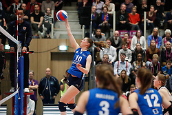 20180218 NED: Bekerfinale Eurosped - Sliedrecht Sport, Hoogeveen <br />Carlijn Ghijssen- Jans (10) of Sliedrecht Sport <br />&copy;2018-FotoHoogendoorn.nl