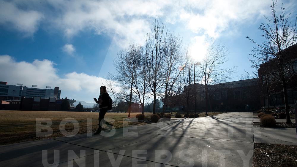 Winter Campus Scenes, Carrie Quinney photo