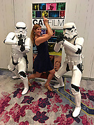 Grand Cayman. The Ritz-Carlton. CayFilm International Film Festival. Guests with Stormtroopers.
