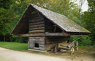 Cantilever Hen house at Cable Mill,Great Smoky Mountains