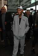 Jan 9, 2018; Alameda, CA, USA; Willie Brown arrives at a press conference to introduce Jon Gruden as Oakland Raiders head coach at the Raiders headquarters.