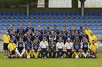 Fotball<br /> Belgia 2004/2005<br /> 29.06.2004<br /> Foto: PhotoNews/Digitalsport<br /> <br /> Westerlo Team 2004 - 2005<br /> Back Row From Left to Right<br /> - Zdenek Svoboda - Wim Mennes - Knut Henry Haraldsen -  Jochen Vanarwegen - Pule Jeffrey Ntuka - Alex Brosque - Jeroen Belmans - Kristof Janssens - Tosin Dosunmu - Nick Vandingenen ( Kine )<br /> Middel Row From Left to Right<br /> Yan Engelen ( Kine ) - Chris Janssens -  Michael Modubi - Joe Keenan - Mario Verheyen -  Bobsam Elejiko - Jonathan Bourdon - Thomas Van Aerschot - Marc Wagemakers -David  Paas  - Stijn Vangeffelen - Dirk Van Genechten ( Doctor )<br /> Front Row From Left to Right<br /> Jos Sneyers ( Kinet) - Valere Vanolst ( Kiné ) - Jonathan Ruttens - Boy Boy Mosiat - Jef Delen - Jan Ceulemans (Trainer) - Herman Wijnants ( Manager ) Danny Vlayen ( Hulptrainer ) - Carl Engelen ( Keeperstrainer ) - Sadio Ba - Bart Deelkens