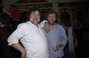 Chas and Dave. Hackney Empire Centenary Cabaret Celebration. 10 March 2001. © Copyright Photograph by Dafydd Jones 66 Stockwell Park Rd. London SW9 0DA Tel 020 7733 0108 www.dafjones.com