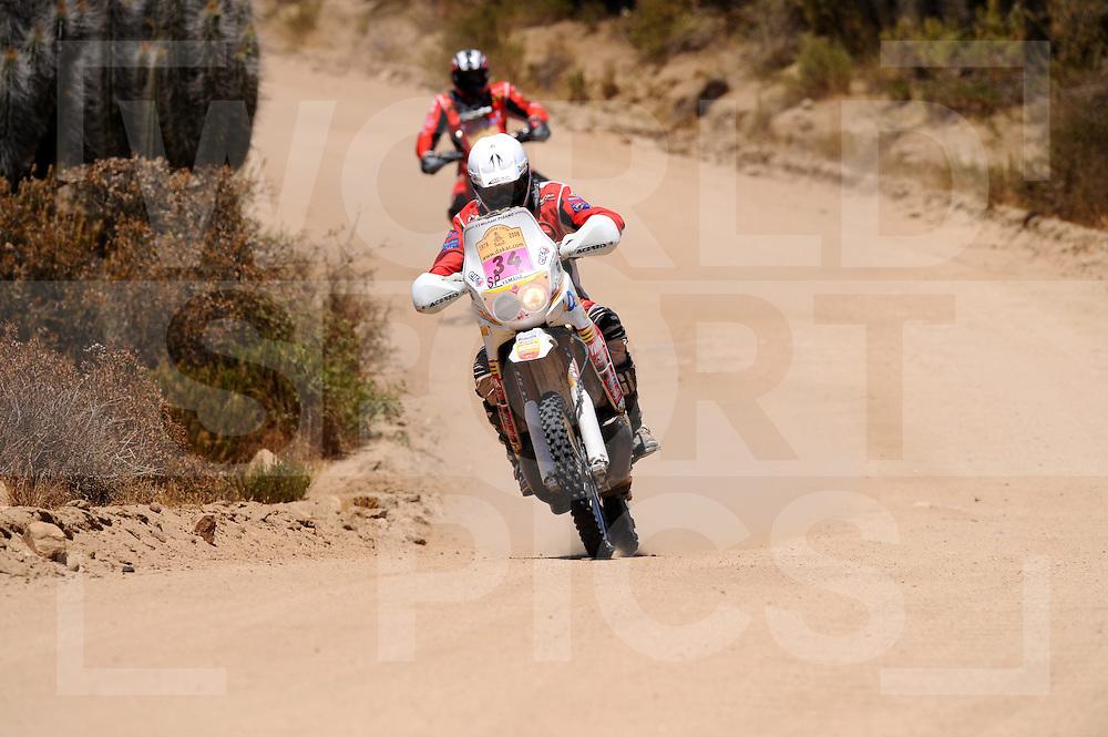 090111  Dakar rally Argentina - Chili..Dakar rally 2009..Valparaiso - La Serena..034  .PISANO Michael (FRA)..fotografie frank uijlenbroek©2008frank uijlenbroek....