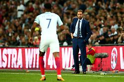 England Manager Gareth Southgate looks on at Marcus Rashford of England - Mandatory by-line: Robbie Stephenson/JMP - 04/09/2017 - FOOTBALL - Wembley Stadium - London, United Kingdom - England v Slovakia - 2018 FIFA World Cup Qualifier