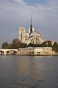Notre Dame de Paris, 1163 ? 1345, initiated by the bishop Maurice de Sully, Ile de la Cité, Paris, France. Picture by Manuel Cohen