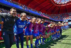June 30, 2019 - Valenciennes, France - Italy Women's Football National team during the quarter-final between in ITALY and NETHERLANDS the 2019 women's football World cup at Stade du Hainaut, on the 29 June 2019. (Credit Image: © Julien Mattia/NurPhoto via ZUMA Press)