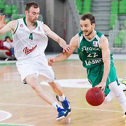 20160523: SLO, Basketball - Nova KBM League, Semifinal, KK Union Olimpija vs KK Zlatorog Lasko