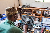 SMART data capture after a patrol, Majete Wildlife Reserve, Malawi.
