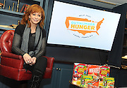 Music icon Reba joins General Mills, Big Machine Label Group and Feeding America to discuss the Outnumber Hunger campaign, Monday, April 13, 2015, in New York.  Reba is the face of the 2015 Outnumber Hunger campaign that helps raise awareness of the 49 million Americans struggling with hunger in the United States.   Reba's new album, LOVE SOMEBODY, will be released April 14. (Photo by Diane Bondareff/Invision for General Mills/AP Images)