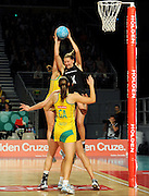 Casey Williams (NZ)<br /> Netball - 2009 Holden International Test Series<br /> Australian Diamonds v New Zealand Silver Ferns<br /> Wednesday 9 September 2009<br /> Hisense Arena, Melbourne AUS<br /> © Sport the library / Jeff Crow
