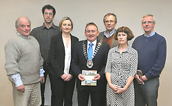 Mayo County Council's Heritage office recently held a seminar on the Care &amp; Conservation of Historic Graveyards at the Harlequin Hotel Castlebar, pictured at the seminar were Nicholas Pins, Conservation Contractor, Derek McLoughlin Ecologist, Deirdre Cunninghan Heritage Officer Mayo County Council, Cllr Johnny O' Malley Cathaoirleach Mayo County Council, John Tierney Eachtra Archaeology, Pauline Gleeson, National Monuments Service, Department of the Arts, Heritage &amp; the Gaeltacht and Gerry Walsh Archaeologist.<br /> Pic Conor McKeown
