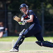 Charlotte Edwards the England Captain batting  during the match between England and New Zealand in the Super 6 stage of the ICC Women's World Cup Cricket tournament at Bankstown Oval, Sydney, Australia on March 14 2009, England won the match by 31 runs. Photo Tim Clayton