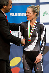, NLZ, 500m TT Podium, 2015 UCI Para-Cycling Track World Championships, Apeldoorn, Netherlands