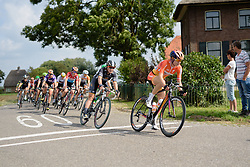 Amalie Dideriksen (Boels Dolmans) chases down a attempt at an escape at the 116 km Stage 5 of the Boels Ladies Tour 2016 on 3rd September 2016 in Tiel, Netherlands. (Photo by Sean Robinson/Velofocus).