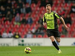 Jacob Barrett Laursen (OB) under kampen i 3F Superligaen mellem FC København og OB den 16. december 2019 i Telia Parken, København (Foto: Claus Birch).