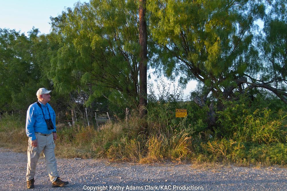 Gary clark, Birdwatcher, Uvalde, Texas.
