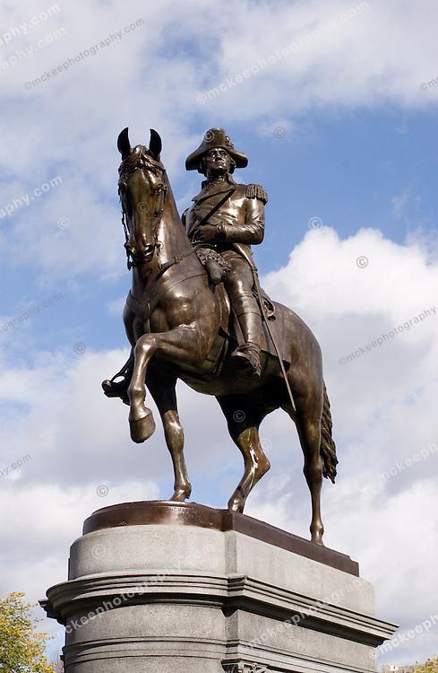 George Washington Statue, Boston Public Gardens